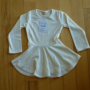 Ivory Baby Girl Dress Size 36/48 Months Runs Small